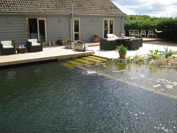 Diy Natural Pool Courses