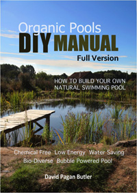Natural pools dvd and diy manual pdf for Natural swimming pools a guide to building